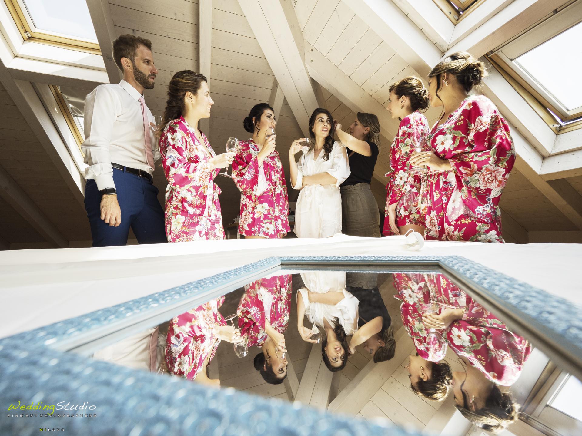vestizione sposa varese