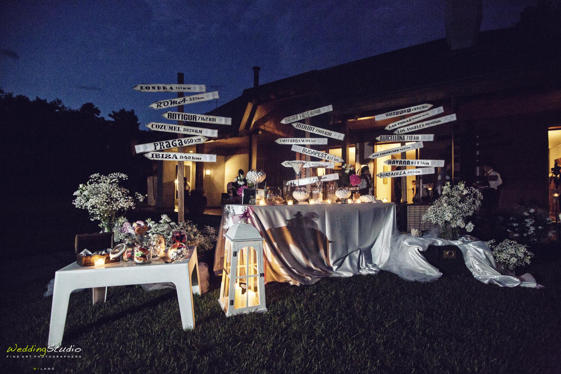 wedding planner - allestimento confettata varese